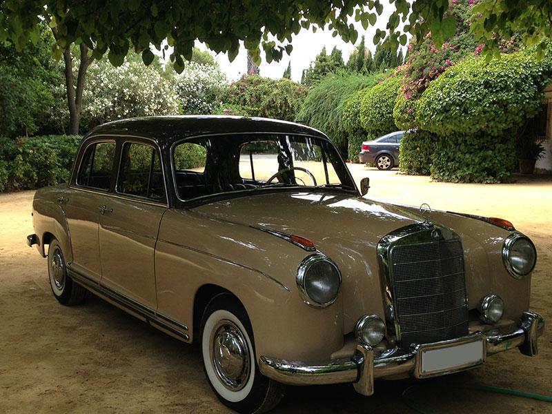 Wedding car hire sevilla